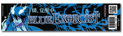 Blue Exorcist Rin Car Decal Sticker officially licensed product at B.A. Toys.
