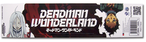 Deadman Wonderland Shiro & Ganta Decal Sticker, an officially licensed Deadman Wonderland Sticker