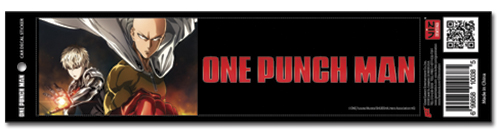 One Punch Man - Key Visual Auto Decal, an officially licensed One-Punch Man product at B.A. Toys.