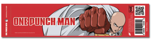 One Punch Man - Saitama Punching Auto Decal, an officially licensed product in our One-Punch Man Costumes & Accessories department.