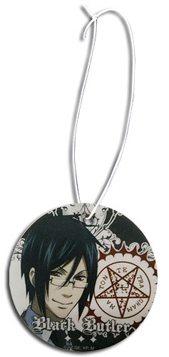 Black Butler - Sebastian Air Freshener, an officially licensed Black Butler product at B.A. Toys.