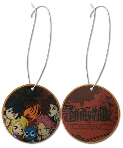 Fairy Tail - Group Sd Rad Air Freshener, an officially licensed product in our Fairy Tail Costumes & Accessories department.