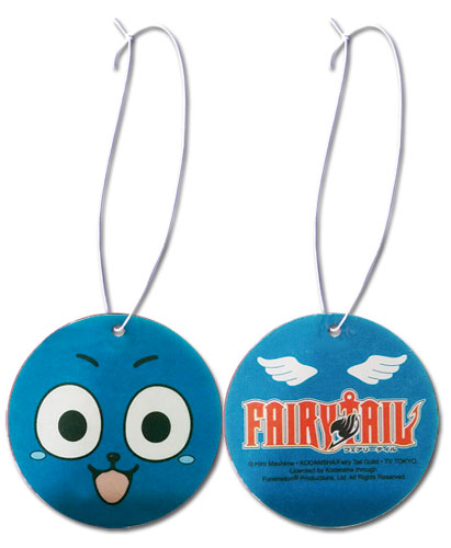 Fairy Tail S2 - Happy Face Air Freshener, an officially licensed product in our Fairy Tail Costumes & Accessories department.