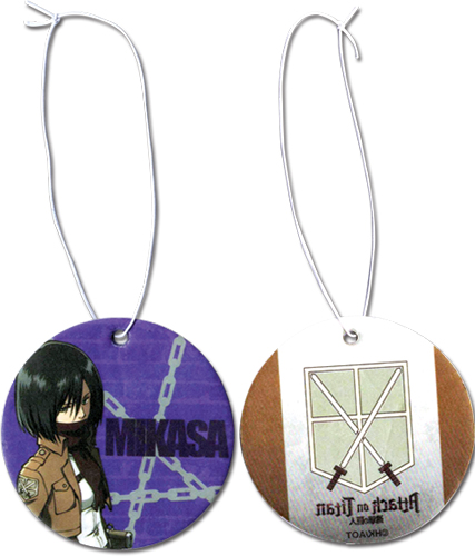 Attack On Titan - Mikasa Air Freshener, an officially licensed product in our Attack On Titan Costumes & Accessories department.