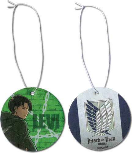 Attack On Titan - Levi Air Freshener officially licensed Attack On Titan Costumes & Accessories product at B.A. Toys.