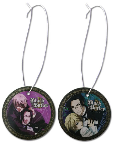 Black Butler 2 - Claude & Alois Air Freshener officially licensed Black Butler Costumes & Accessories product at B.A. Toys.