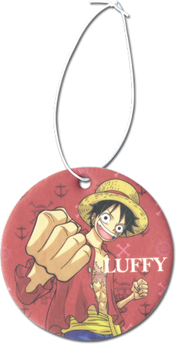 One Piece - Luffy Air Freshener, an officially licensed product in our One Piece Costumes & Accessories department.