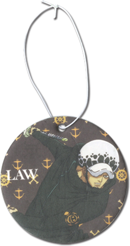 One Piece - Law Air Freshener officially licensed One Piece Costumes & Accessories product at B.A. Toys.