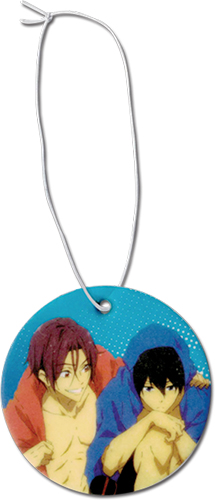 Free! 2 - Haruka & Rin Air Freshner, an officially licensed Free! product at B.A. Toys.