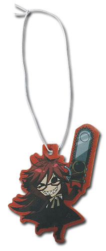 Black Butler - Sd Grell Air Freshener, an officially licensed Black Butler product at B.A. Toys.