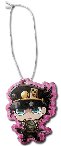 JojoS Bizarre Adventure - Jotaro Sd Air Freshner, an officially licensed Jojo'S Bizarre Adventure product at B.A. Toys.