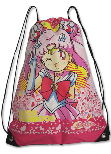 Sailormoon S Chibimoon Drawstring Bag, an officially licensed Sailor Moon Bag