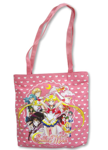 Sailormoon S Sailor Soldiers Tote Bag, an officially licensed product in our Sailor Moon Bags department.