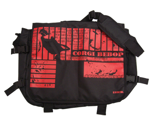 Cowboy Bebop Ein's Dream Messenger Bag officially licensed product at B.A. Toys.