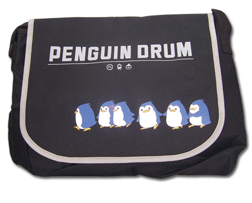 Penguin Drum Penguin Messenger Bag officially licensed product at B.A. Toys.