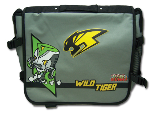 Tiger & Bunny Wild Tiger Sd Messenger Bag, an officially licensed product in our Tiger & Bunny Bags department.