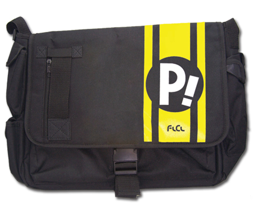 Flcl P! Messenger Bag, an officially licensed FLCL Bag