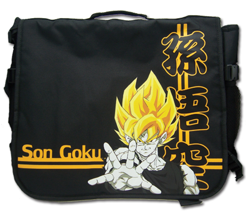 Dragon Ball Z Son Goku Messenger Bag, an officially licensed Dragon Ball Z product at B.A. Toys.