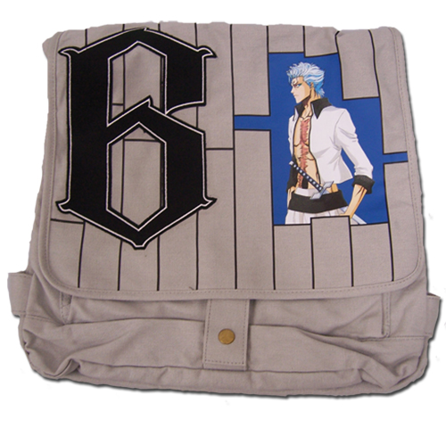 Bleach Grimmjow Messenger Bag officially licensed product at B.A. Toys.