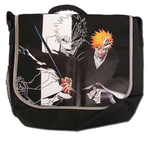 Bleach Vizard Ichigo Messenger Bag officially licensed Bleach Bags product at B.A. Toys.