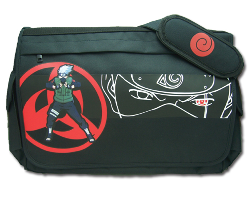 Naruto Shippuden Kakashi Messenger Bag, an officially licensed product in our Naruto Shippuden Bags department.