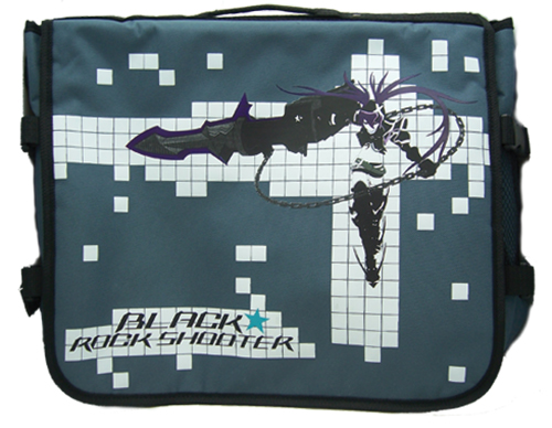 Black Rock Shooter Black Rock Shooter Messenger Bag, an officially licensed Black Rock Shooter product at B.A. Toys.