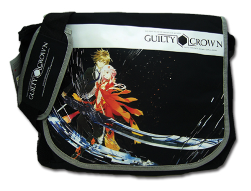 Guilty Crown Ouma & Yuzuriha Messenger Bag, an officially licensed product in our Guilty Crown Bags department.