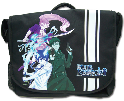 Blue Exorcist Group Messenger Bag officially licensed Blue Exorcist Bags product at B.A. Toys.