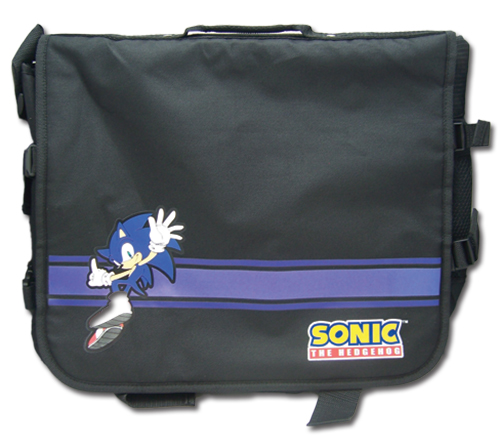 Sonic The Hedgehog Sonic Messenger Bag, an officially licensed product in our Sonic Bags department.