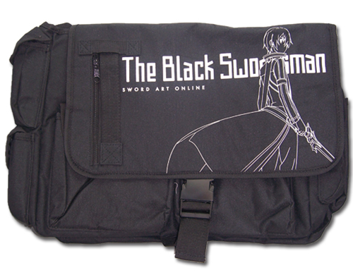 Sword Art Online - Kirito Messenger Bag officially licensed Sword Art Online Bags product at B.A. Toys.