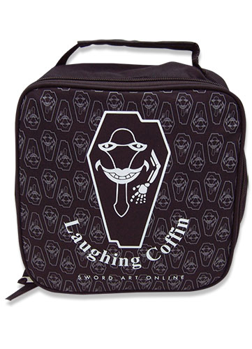Sword Art Online Laughing Coffin Lunch Bag officially licensed Sword Art Online Bags product at B.A. Toys.