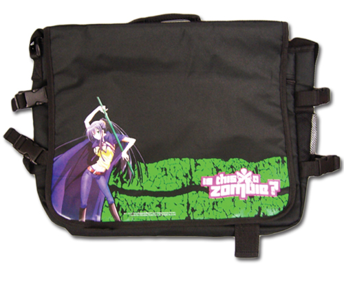 Is This A Zombie - Seraphim Messenger Bag, an officially licensed product in our Is This A Zombie? Bags department.