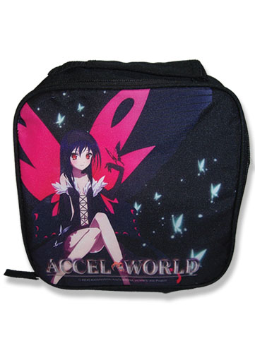 Accel World - Kuroyukihime Lunch Bag officially licensed Accel World Bags product at B.A. Toys.