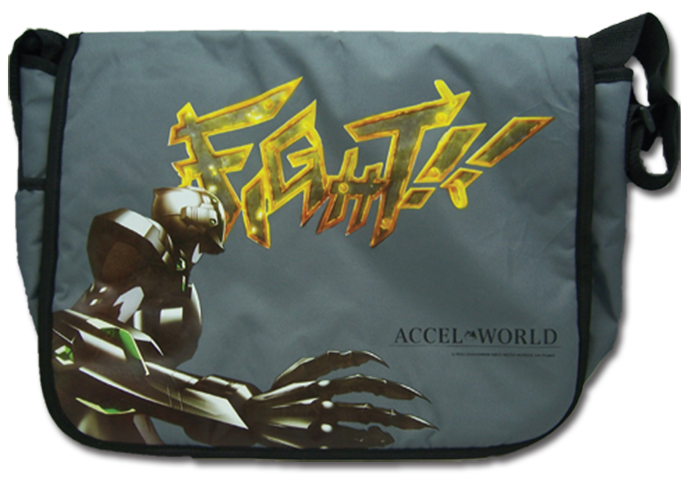 Accel World Silver Crow Messenger Bag officially licensed Accel World Bags product at B.A. Toys.