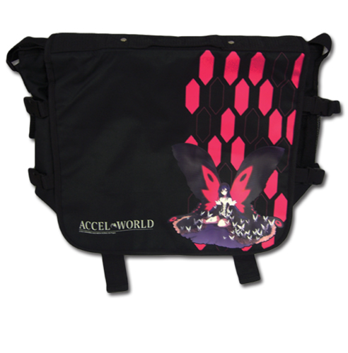 Accel World - Kuroyukihime Messenger Bag officially licensed Accel World Bags product at B.A. Toys.