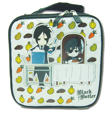 Black Bulter Curry Dinner Lunch Bag officially licensed product at B.A. Toys.