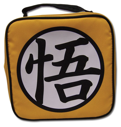 Dragon Ball Z Goku Symbol Lunch Bag, an officially licensed product in our Dragon Ball Z Bags department.