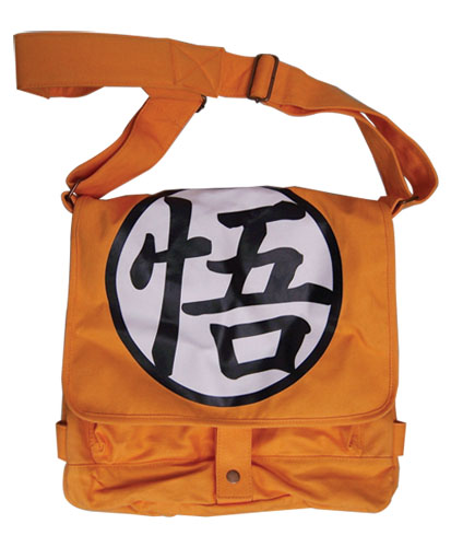 Dragon Ball Z - Goku Symbol Messenger Bag, an officially licensed Dragon Ball Z Bag