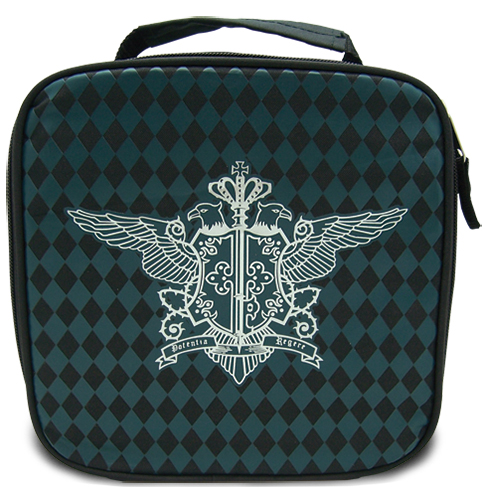 Black Butler Phantomhive Lunch Bag officially licensed product at B.A. Toys.
