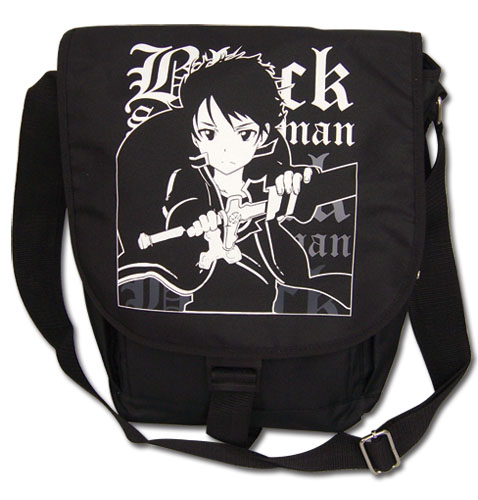 Sword Art Online Black Swordsman Messenger Bag officially licensed Sword Art Online Bags product at B.A. Toys.