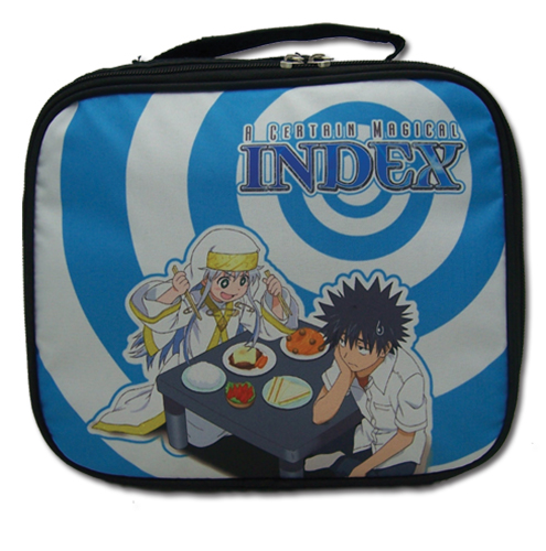 A Certain Magical Index - Index & Touma Lunch Bag, an officially licensed product in our A Certain Magical Index Bags department.
