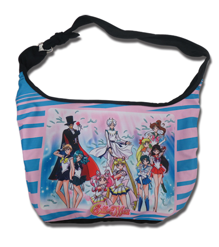 Sailor Moon - Tuxedo Sublimation Hobo Bag, an officially licensed product in our Sailor Moon Bags department.