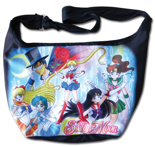 Sailor Moon - Sailor Senshi Line-Up Hobo Bag, an officially licensed product in our Sailor Moon Bags department.