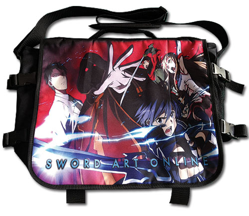Sword Art Online - Battle Scene Messenger Bag, an officially licensed product in our Sword Art Online Bags department.