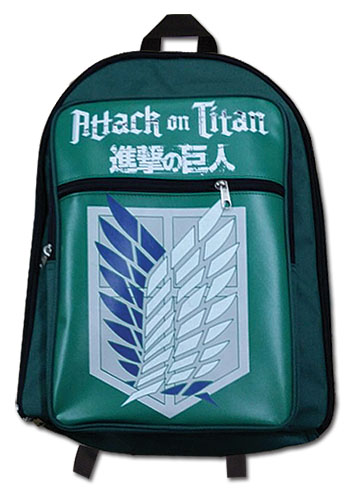 Attack On Titan - Sout Squad Backpack, an officially licensed product in our Attack On Titan Bags department.