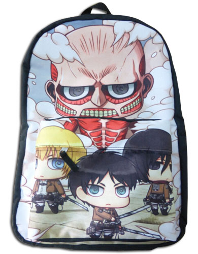 Attack On Titan - Attack On Titan Sd Backpack, an officially licensed Attack On Titan product at B.A. Toys.