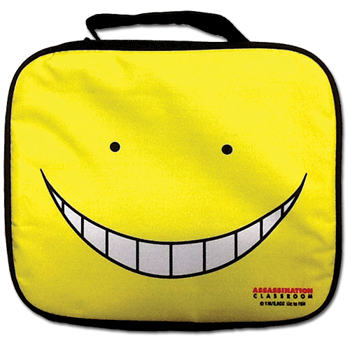 Assassination Classroom - Koro Sensei Face Lunch Bag, an officially licensed product in our Assassination Classroom Bags department.