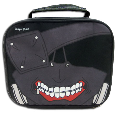 Tokyo Ghoul - Kaneki Mask Lunch Bag, an officially licensed product in our Tokyo Ghoul Bags department.