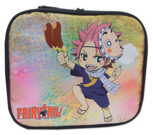 Fairy Tail - Natsu Lunch Bag, an officially licensed product in our Fairy Tail Bags department.