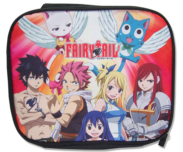 Fairy Tail - Group Lunch Bag, an officially licensed product in our Fairy Tail Bags department.